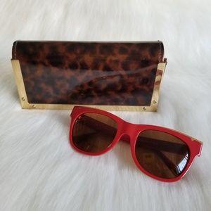 TORY BURCH | Red Sunglasses